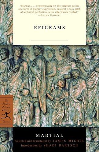 9780375760426: Mod Lib The Epigrams Of Martial (Modern Library)