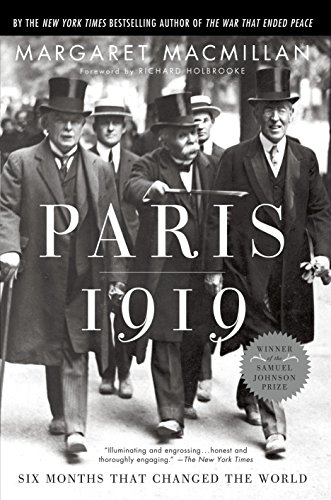 9780375760525: Paris 1919: Six Months That Changed the World
