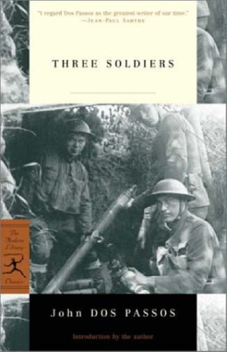 9780375760860: Three Soldiers (Modern Library)