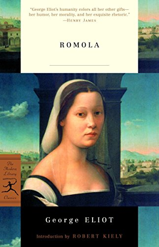 Romola (Modern Library Classics) (0375761217) by Eliot, George