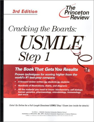 9780375761638: Cracking the Boards: USMLE Step 1