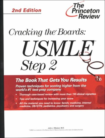 9780375761645: Cracking the Boards: USMLE Step 2, 2nd Edition (Princeton Review Series)