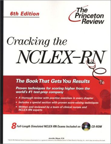 9780375761904: The Princeton Review: Cracking the NCLEX-RN with Sample Tests on CD-ROM