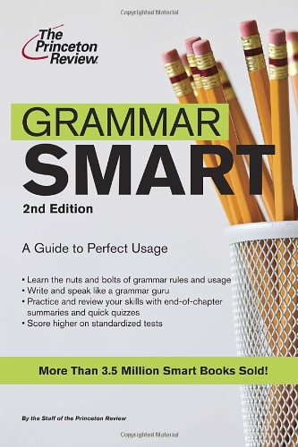 9780375762154: Grammar Smart: A Guide to Perfect Usage
