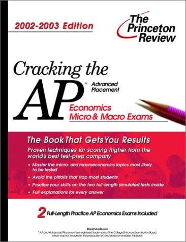 9780375762246: Cracking the AP Economics (Micro & Macro), 2002-2003 Edition (College Test Prep)