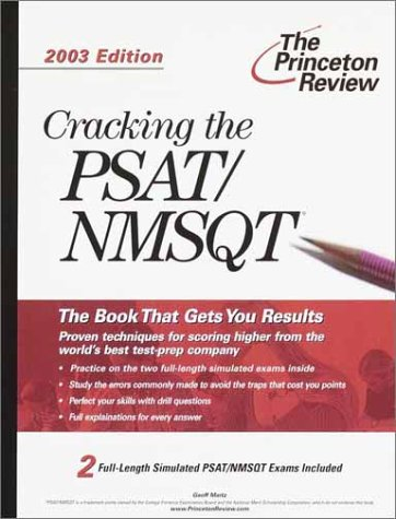 9780375762543: Cracking the PSAT/NMSQT, 2003 Edition (College Test Prep)