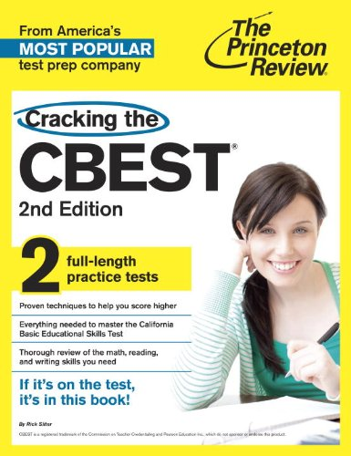 9780375762635: Cracking the CBEST, 2nd Edition (Professional Test Preparation)