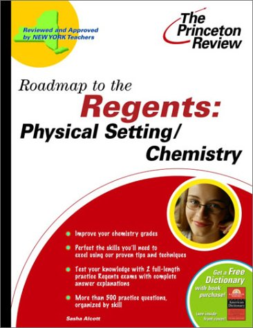 9780375763083: Roadmap to the Regents: Physical Setting/Chemistry (State Test Preparation Guides)