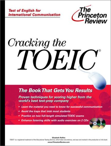Cracking the TOEIC with Audio CD (Professional Test Preparation): Review, Princeton