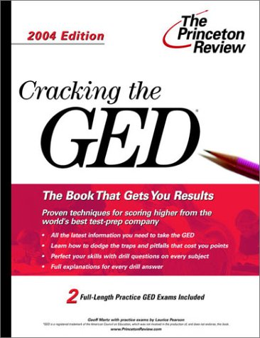 9780375763403: Cracking the GED, 2004 Edition (Test Prep)