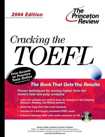 9780375763434: Cracking the TOEFL with Audio CD, 2004 Edition (College Test Prep)
