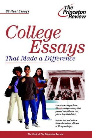 9780375763441: College Essays that Made a Difference