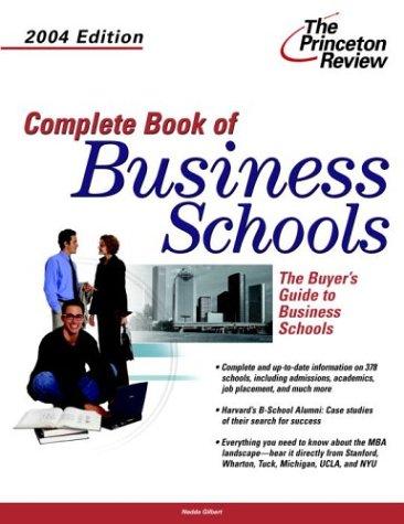 9780375763465: Complete Book of Business Schools