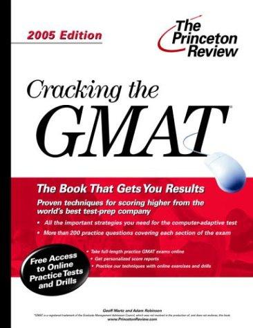 9780375764073: Cracking the GMAT 2005