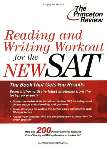 9780375764318: Reading and Writing Workout for the SAT (College Test Preparation)