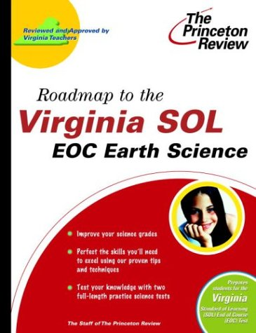 9780375764417: Roadmap to the Virginia SOL: EOC Earth Science (State Test Preparation Guides)