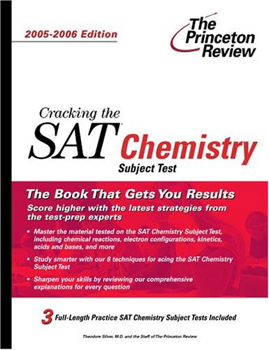 9780375764486: Cracking the SAT Chemistry Subject Test