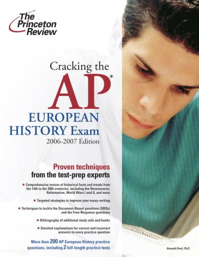 9780375765391: Cracking the AP European History Exam, 2006-2007 Edition (College Test Preparation)