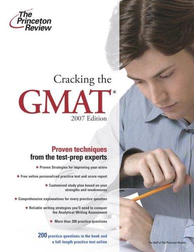 9780375765520: Cracking the GMAT, 2007 Edition (Graduate School Test Preparation)
