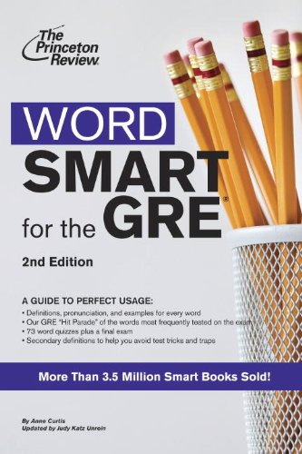 9780375765773: Word Smart for the GRE: A Guide to Perfect Usage