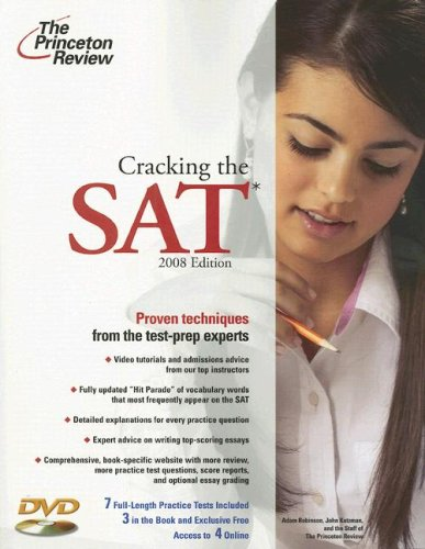 9780375766077: Cracking the SAT with DVD, 2008 Edition (College Test Preparation)