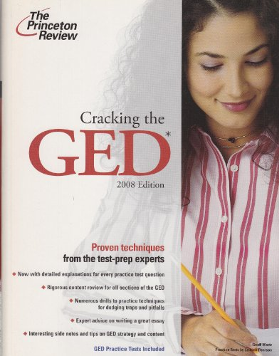 9780375766084: Cracking the GED, 2008 Edition (Professional Test Preparation)