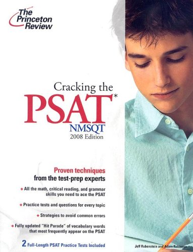 9780375766091: Cracking the PSAT/NMSQT, 2008 Edition (College Test Preparation)