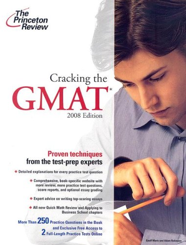 9780375766107: Cracking the GMAT, 2008 Edition (Graduate School Test Preparation)