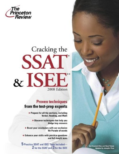 9780375766183: Cracking the SSAT and ISEE, 2008