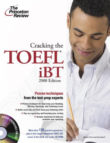 9780375766220: Cracking the toefl ibt with audio CD, 2008 édition