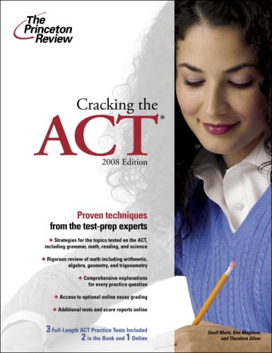 9780375766343: The Princeton Review Cracking the Act, 2008 (Princeton Review Series)