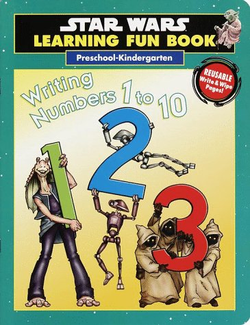 Writing Numbers 1 to 10: Preschool-Kindergarten (SW Lrning Fun Book-Write/Wipe) (0375800077) by Redondo, Jesus