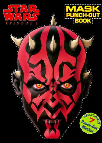 9780375800191: Star Wars Episode I: Mask Punch-Out Book