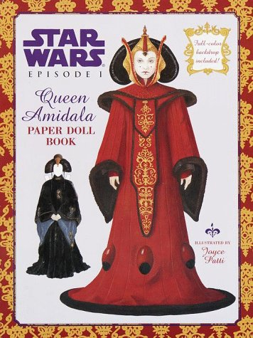 9780375800207: Queen Amidala Paper Doll (A Punch & Play Book)