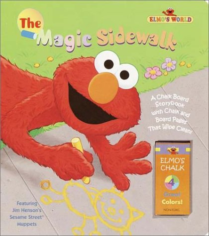 The Magic Sidewalk Chalk Board Story Book (Great Big Board Book) (0375800433) by Brannon, Tom