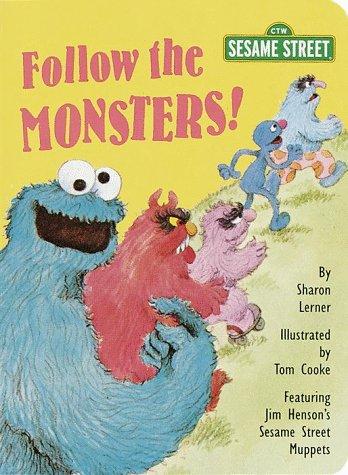 9780375801303: Follow the Monsters! (Big Bird's Favorites Brd Bks)