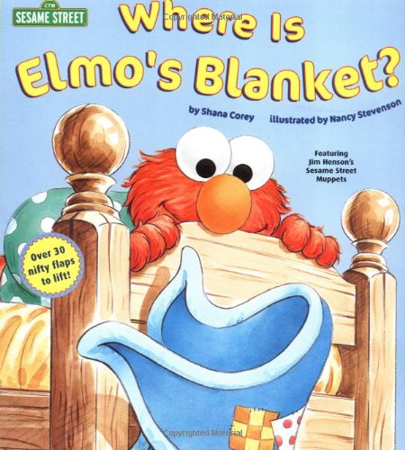 9780375801389: Where is Elmo's Blanket? (Nifty Lift-and-Look)