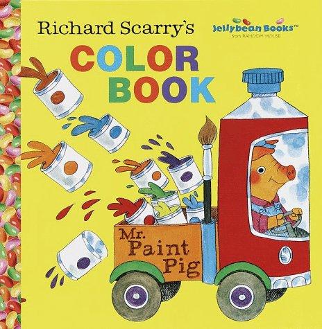 9780375801457: Richard Scarry's Color Book (Jellybean Books(R))