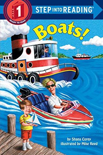 Boats (Step-Into-Reading, Step 1): Corey, Shana