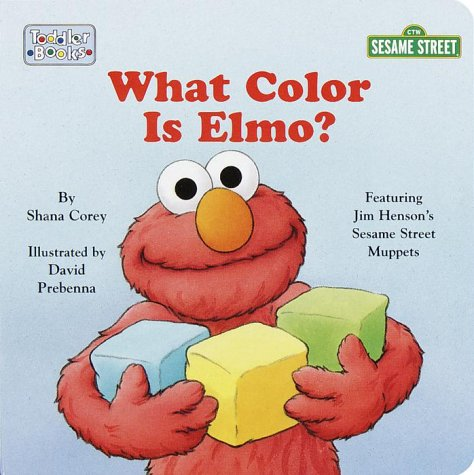 What Color is Elmo? (Toddler Board Book)