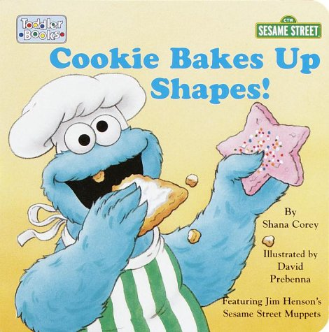 9780375802379: Cookie Bakes Up Shapes! (Toddler Board Book)