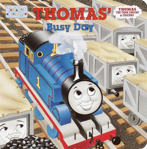 9780375802393: Thomas' Busy Day (Toddler Books / Thomas the Tank Engine & Friends)