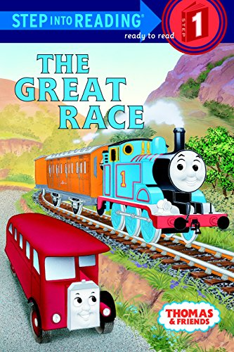 The Great Race: Based on the Railway Series (Step Into Reading - Level 1 - Paperback): Awdry, W