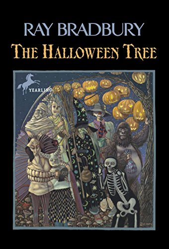 Cover of the book, The Halloween Tree.