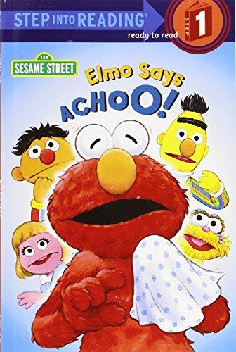 9780375803116: Elmo Says Achoo! (Step-Into-Reading, Step 1)