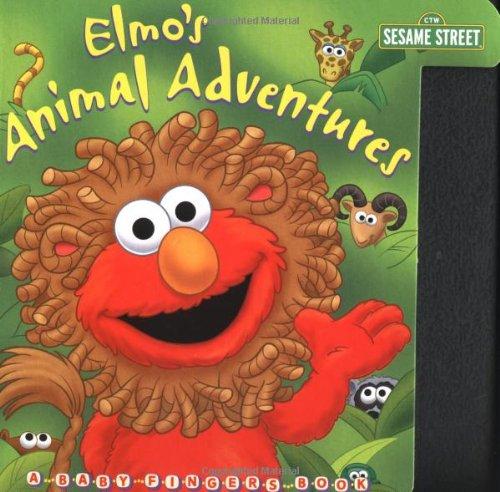 9780375803314: Elmo's Animal Adventures (Sesame Street) (Baby Fingers Board Books)