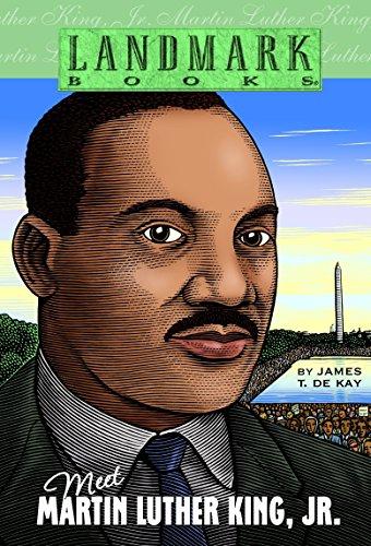 Meet Martin Luther King, Jr. (Landmark Books): James T. de