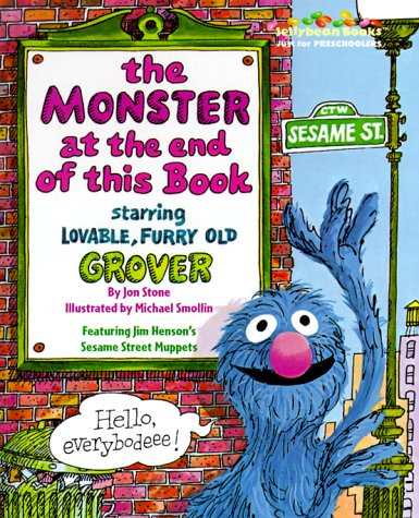 9780375804014: The Monster at the End of This Book (Jellybean Books(R))