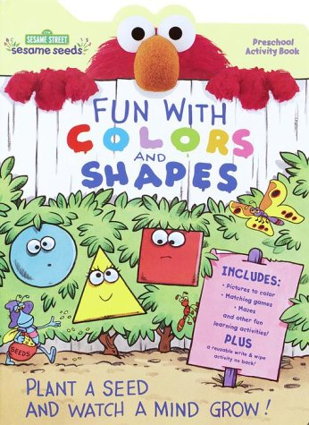 Fun with Shapes and Colors (Sesame Seeds Preschool Act Bks) (9780375804625) by Random House