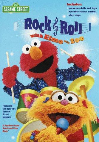 9780375804694: Rock & Roll with Elmo & Zoe (Sticker Time)